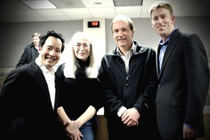 Francis Phan, Gladis Filchtiner, Sir Tim Berners-Lee and Zach Richardson